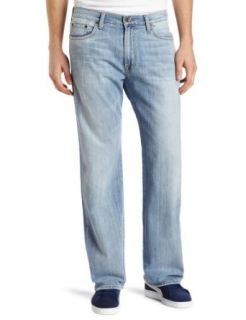 Lucky Brand Men's 181 Relaxed Straight in Ol Refugio, Ol Refugio, 33x32 Clothing