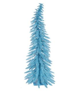 Vickerman Sky Blue Whimsical Christmas Tree   Christmas Trees