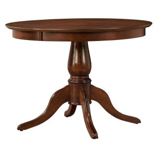 Clifton 42 in. Round Pedestal Dining Table   Mahogany   Dining Tables