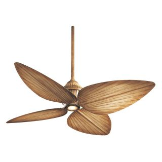 Minka Aire F581 BG Gauguin 52 in. Indoor / Outdoor Ceiling Fan   Bahama Beige   Outdoor Ceiling Fans