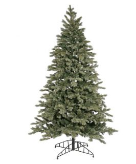 Blue Balsam Fir Pre lit Christmas Tree   Christmas