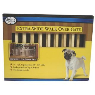Extra Wide Walk Over Wood Gate   Gates & Doors