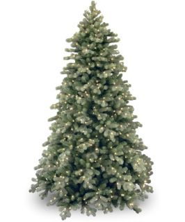 Frosted Colorado Spruce Full Pre lit Christmas Tree   Artificial Christmas Trees