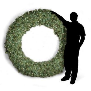 108 in. Commercial Pre lit Christmas Wreath   Christmas Wreaths