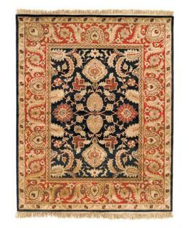 Safavieh Classic CL244C Regal Oriental Rug   Black & Burgundy   Area Rugs
