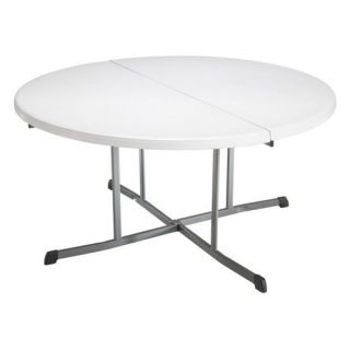 Lifetime 60 in. Round Fold in Half Folding Table   Banquet Tables
