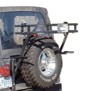 1997 2006 Jeep Wrangler (TJ) Cargo Carrier   WP Warrior Products, Direct fit, Steel