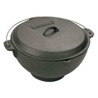 Bayou Classics Cast Iron Jambalaya Pot and Deep Fryer   2.75 gal.   Cast Iron Cookware