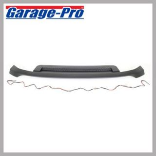 2007 2010 GMC Sierra 2500 HD Hood Molding   Garage Pro, GM1235109, Direct fit, Plastic