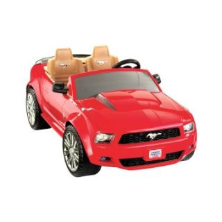 Fisher Price Battery Powered Ford Mustang P8195   Battery Powered Riding Toys