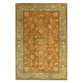 Safavieh Bergama BRG161A Area Rug   Brown/Blue   Area Rugs