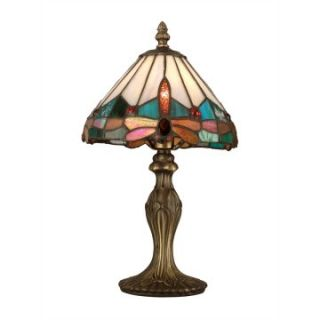 Dale Tiffany Jewel Dragonfly Accent Lamp   Tiffany Table Lamps