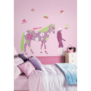 Horse Crazy Peel and Stick Wall Decals   Wall Decals