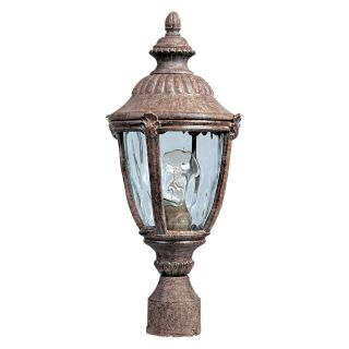 Maxim Morrow Bay DC Outdoor Post Lantern   19.5H in. Earth Tone   Outdoor Post Lighting