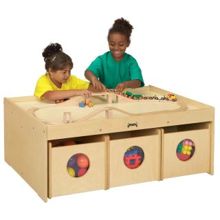 Jonti Craft Kydz Activity Table With 6 Bins   Activity Tables