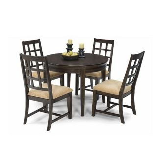 Progressive Furniture Casual Traditions 5 Piece Round Dining Table Set   Dining Table Sets