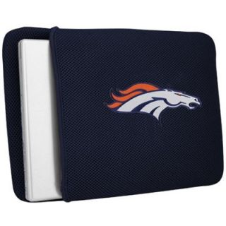 Denver Broncos Navy Blue Mesh Laptop Cover