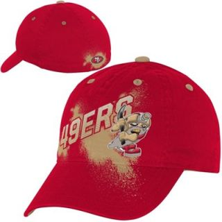 San Francisco 49ers Youth NFL Rush Zone Rusher Graphic Flex Hat   Scarlet