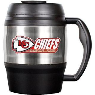 Great American Kansas City Chiefs 52oz. Stainless Steel Macho Travel Mug
