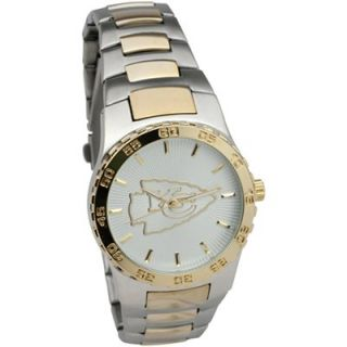 Kansas City Chiefs Executive Stainless Steel Watch