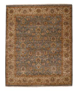 Capel Rugs Boca Park Mahal Oriental Rug   Medium Blue/Beige   Area Rugs