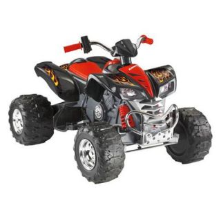 Fisher Price Kawasaki KFX Battery Powered ATV Riding Toy   Battery Powered Riding Toys
