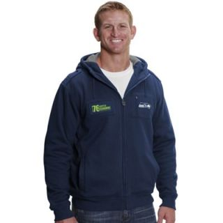 Pro Line Seattle Seahawks Big & Tall Star Imperial Full Zip Hoodie