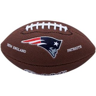 Wilson New England Patriots 9 Mini Soft Touch Football