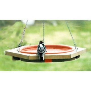 Songbird Essentials Mini 14 in. Hanging Bird Bath Clay Tray   Bird Baths