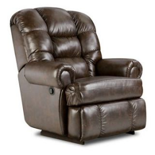 American Furniture New Era Big Man Faux Leather Recliner   Recliners
