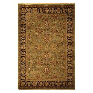 Safavieh Dynasty DY253A Area Rug   Green/Black   Area Rugs