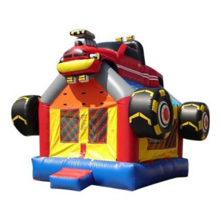 Kidwise Commercial Monster Truck Bounce House   Commercial Inflatables
