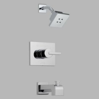 Delta Vero T14453 H2O Monitor 14 Series Wall Mount Tub and Shower Trim Set   Bathtub Faucets