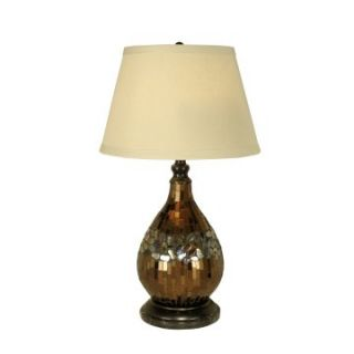 Dale Tiffany Mosaic Glass Dome Table Lamp   Table Lamps