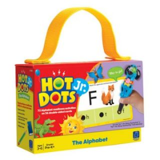 Educational Insights Hot Dots Jr Educational Cards & Pen Set   Alphabet   Learning Aids
