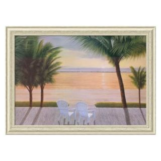 Palm Bay Dreaming Framed Wall Art by Diane Romanello   39.38W x 28.38H in.   Framed Wall Art