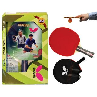 Butterfly 302 Shakehand Table Tennis Racket   Table Tennis Paddles