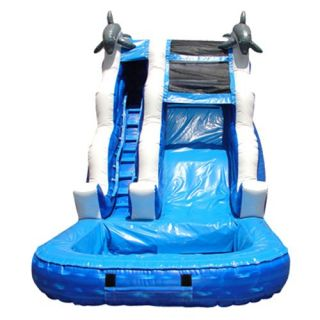 Kidwise 16 ft. Inflatable Water Slide   Commercial Inflatables