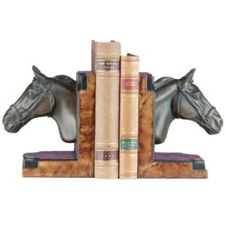 Horse Head Display Bookends   Bookends