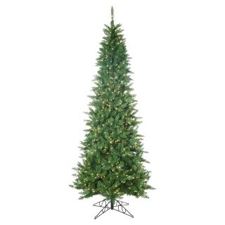 Pre Lit Narrow Nordic Fir Christmas Tree   Christmas Trees