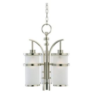 Sea Gull Eternity Indoor/Outdoor Hanging Light   23.25H in. Brushed Nickel   Outdoor Hanging Lights