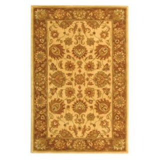 Safavieh Heritage HG343D Area Rug   Ivory/Brown   Area Rugs