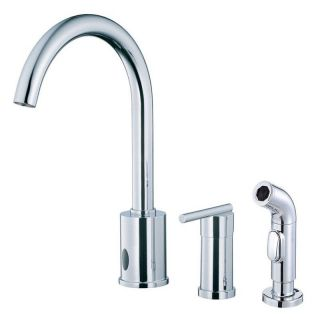 Danze Parma D423058 Single Handle Dual Control Kitchen Faucet with Side Spray   Kitchen Faucets