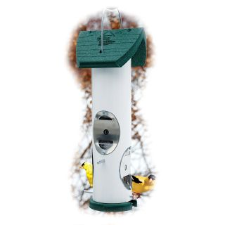 Going Green Recycled Plastic Thistle Bird Feeder   Bird Feeders