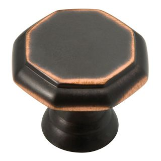 Liberty Hardware Athens Beveled Octagon Cabinet Knob   Set of 10   Cabinet Knobs