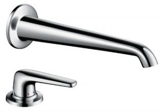 Hansgrohe Axor Bouroullec 19137001 Wall Mount Bathroom Faucet   Bathroom Sink Faucets