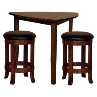 Trilogy Triangle 3 pc. Pub Table Set   Pub Tables