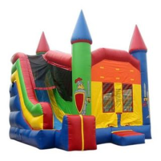 Kidwise Commercial Extreme Castle Combo Bounce House   Commercial Inflatables