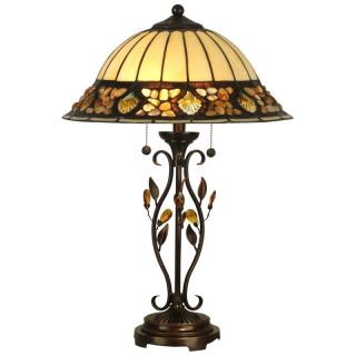 Dale Tiffany Pebblestone Table Lamp   Tiffany Table Lamps