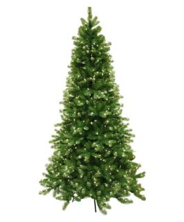 7.5 ft. Pre Lit Natural Cut Vienna Pine Christmas Tree   Christmas Trees